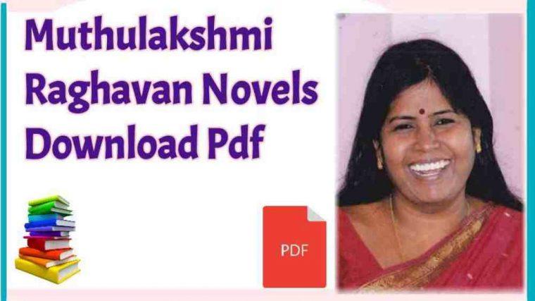Muthulakshmi Raghavan Novels Free Pdf Download